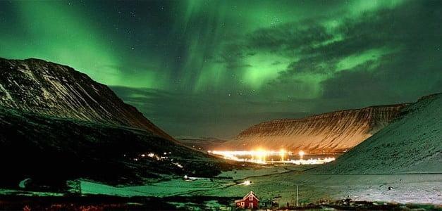 Islandia y Auroras Boreales