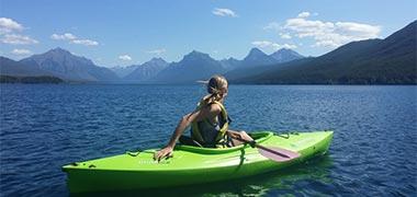 Viajes en kayak y canoas